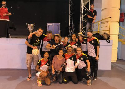 MABC Champion D2 2016-2017 - martigues badminton club