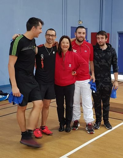 GP la mede MABC Martigues badminton club