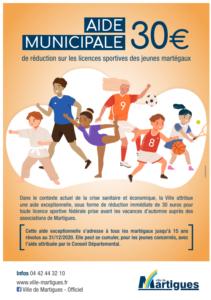 Aide jeunes martigues badminton
